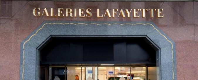 Parigi, militare dell'antiterrorismo si suicida nei grandi magazzini Lafayette