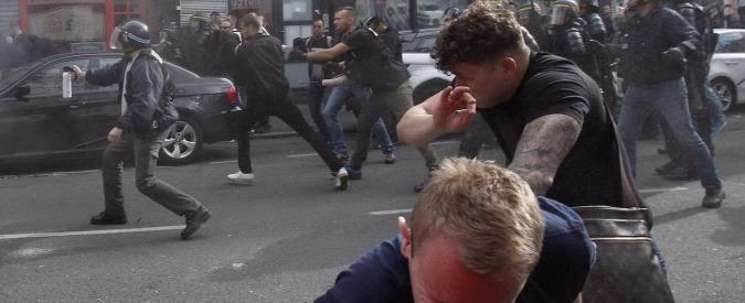 Euro 2016, ancora violenza a Lille. La polizia usa i lacrimogeni contro gli hooligans: 36 arresti