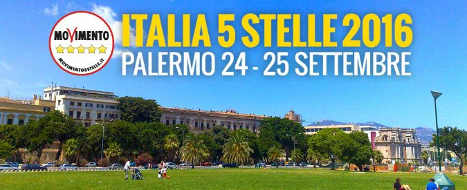"""M5s, blog Beppe Grillo: """"La terza edizione di Italia 5 stelle sarà a Palermo il 24 e 25 settembre"""""""