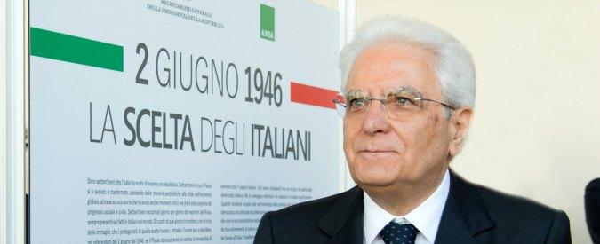 """2 giugno, Mattarella: """"Festa di tutti gli italiani. Ma non va tutto bene: periferie come ghetti, corruzione fenomeno grave"""""""