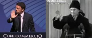 """Renzi fischiato a Confcommercio, opposizioni scatenate su Twitter. Di Maio: """"Presto a lui le monetine"""". E' polemica"""