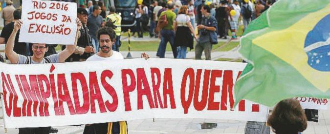 Olimpiadi Rio 2016, Brasile a rischio default: sanità, mobilità e pubblica sicurezza al collasso