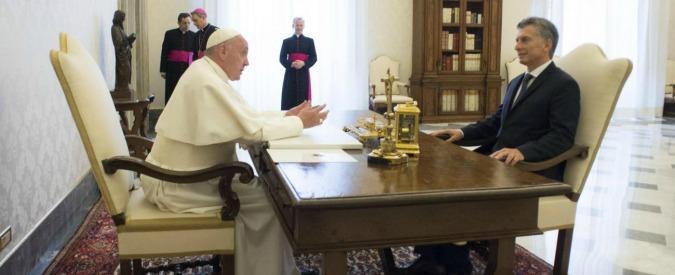 """Papa Francesco rifiuta la donazione dell'Argentina: """"Dovete pensare ai bisogni del popolo. E poi nell'assegno c'è 666"""""""