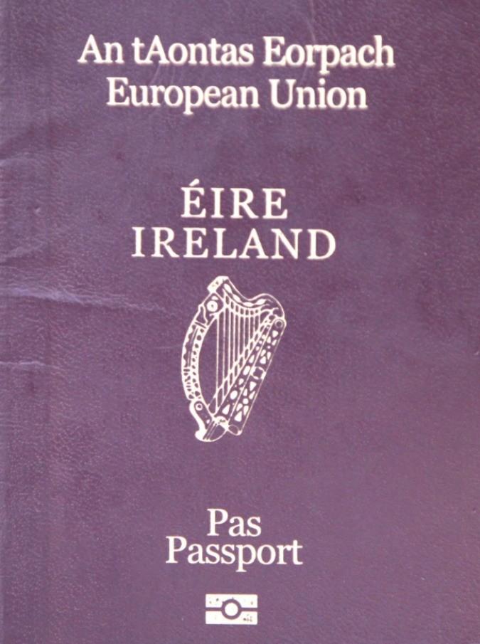 passaportoirlandese905