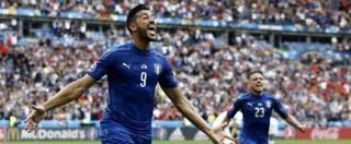 Italia-Spagna 2-0: Chiellini e Pellè, iberici eliminati. Il 2 luglio a Bordeaux quarti di finale contro la Germania – Foto e video