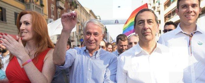 """Milano Pride, passaggio di consegne sui diritti fra Pisapia e Sala: """"Nuova giunta continuerà nel solco della precedente"""""""