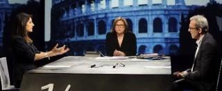 """Comunali Roma 2016, confronto Raggi-Giachetti: """"Lui fa patto del Nazareno all'amatriciana"""", """"Ma Alemanno vota lei"""""""