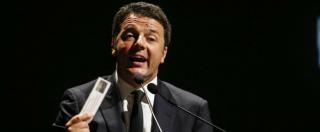 """Bonus 80 euro, Renzi fischiato all'assemblea di Confcommercio. Lui: """"E' una misura di giustizia sociale"""""""