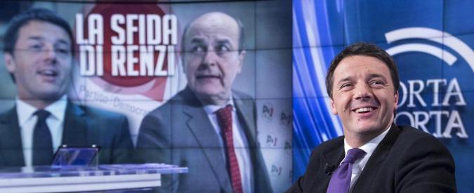 """Referendum riforme, Renzi: """"Le feste dell'Unità sono del Pd, non di corrente"""". Bersani: """"Ma non siano feste del Sì"""""""