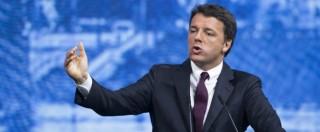 """Renzi: """"Pd e governo capiscano dove si può fare meglio. Allarme è scattato, ma no alle polemiche sulle poltrone"""""""