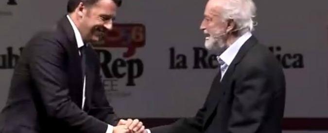 """Comunali Roma, Renzi: """"Se vince Raggi, problema per romani. Pronto a firmare legge per limite due mandati premier"""""""