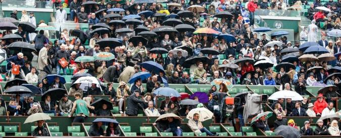 Roland Garros 2016. Acquazzoni, assenze tra i big e crollo degli spettatori: per ora l'Open di Francia è un flop