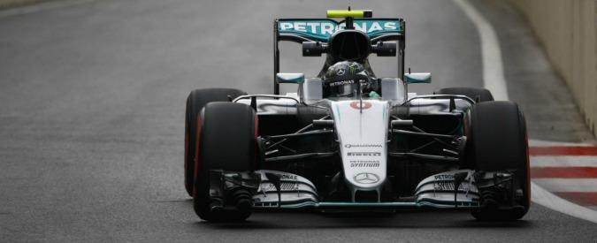 Gran Premio d'Europa 2016, Rosberg in pole davanti a Ricciardo e Vettel. Hamilton decimo dopo incidente