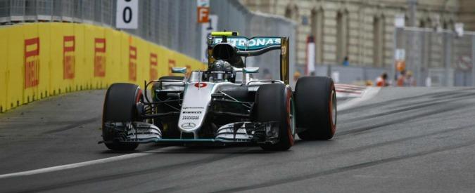 Gran Premio d'Europa 2016, Rosberg vince a Baku. Seconda la Ferrari di Vettel