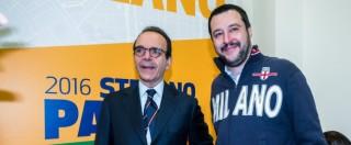 """Ballottaggi 2016, Salvini stronca Parisi: """"Leader del centrodestra? Faccia il capogruppo a Milano. Stop"""""""