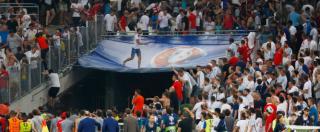"""Europei 2016, l'Uefa minaccia l'esclusione per Russia e Inghilterra: """"Fuori se continuano gli scontri"""""""