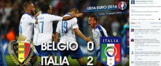 Europei 2016, trionfo social degli Azzurri: boom di contatti per le pagine su Facebook e Twitter della Nazionale