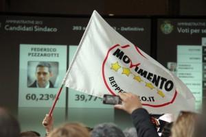 Federico Pizzarotti è sindaco di Parma, grillini in festa