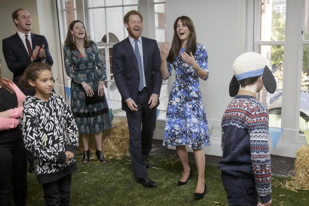 Londra, William e Kate al BAFTA