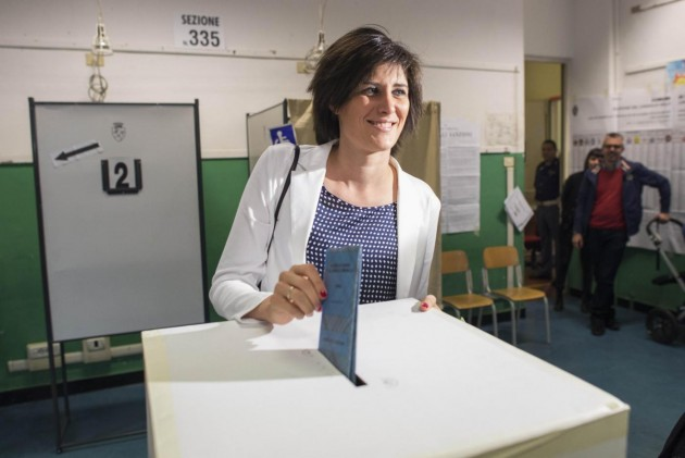 Amministrative, Chiara Appendino al voto