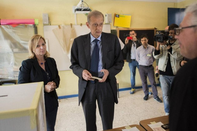 Amministrative, Piero Fassino al voto