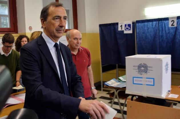 Milano, Giuseppe Sala al voto per le comunali