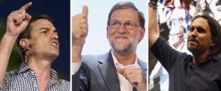 Elezioni Spagna, Pp primo partito con maggioranza assoluta solo al Senato. Delusione Podemos: non c'è il sorpasso sui socialisti