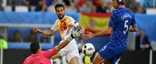 Europei 2016, la Croazia batte la Spagna 2 a 1. E ora per l'Italia ci sono le Furie Rosse – Video