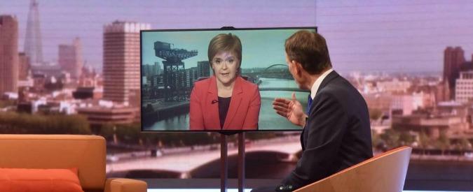 """Brexit, Scozia verso il veto. La premier Sturgeon: """"Il Parlamento di Edimburgo deve potersi esprimere"""""""