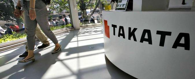 Airbag difettosi, istanza di fallimento per il fornitore Takata. Debiti per oltre 8 miliardi di euro