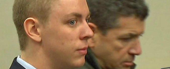 """Usa, 20enne condannato a sei mesi per stupro. Il padre: """"Troppo per un'azione di 20 minuti"""""""