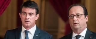 """Francia, Hollande: """"Stop manifestazioni senza tutela di beni e persone"""". Valls al sindacato: """"Basta proteste con violenze"""""""