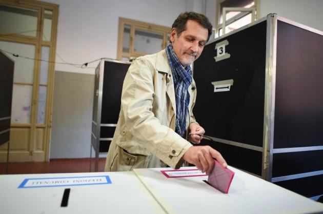 Bologna, Virginio Merola al voto per le comunali