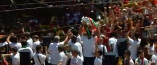 Europei 2016, il Portogallo campione in parata nelle strade di Lisbona
