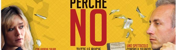 """Bolgheri Festival 2016:  """"PERCHÉ NO"""", lo spettacolo sul referendum costituzionale con Marco Travaglio"""