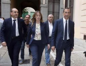 Boschi e Sala entrano al circolo della Pallacorda a Milano