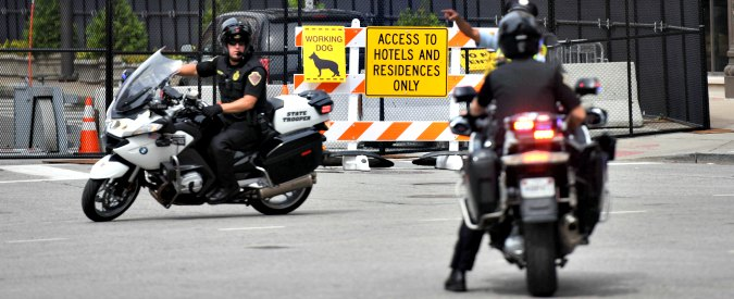 Usa 2016, spari contro polizia fuori dalla convention repubblicana a Cleveland