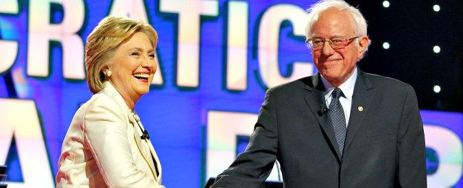 """Usa 2016, Sanders: """"Hillary Clinton è il miglior candidato, diventerà presidente"""""""
