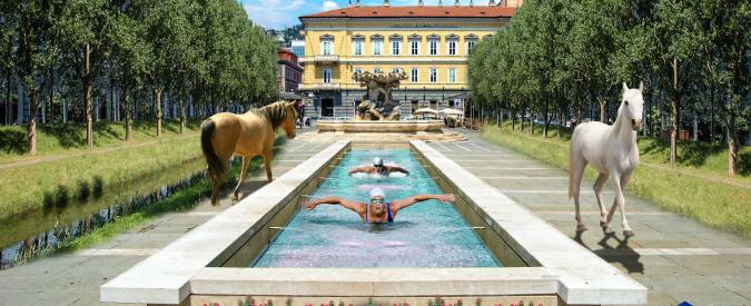 """Trieste, l'ex pallavolista diventato grafico: """"Con il 3D disegno il futuro e creo lavoro"""""""