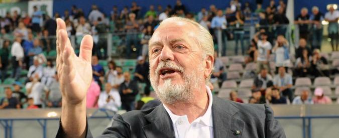 """Aurelio De Laurentiis contro tutti: """"Tavecchio e Ventura sono ultracentenari. Conte al Chelsea farà molta fatica"""""""
