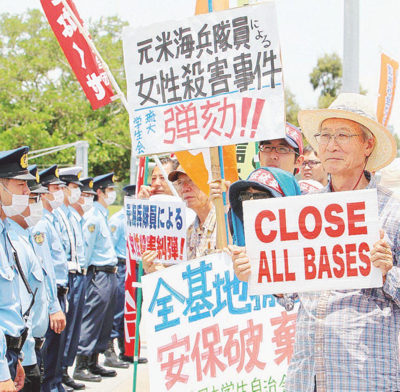 I marines a Okinawa  e il lato oscuro della forza