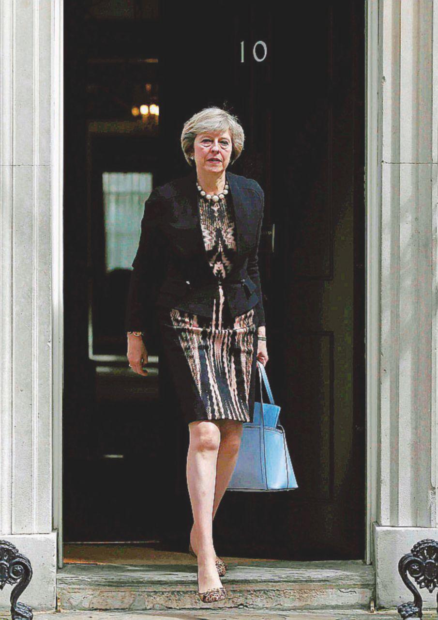 Una donna per pulire i cocci della Brexit