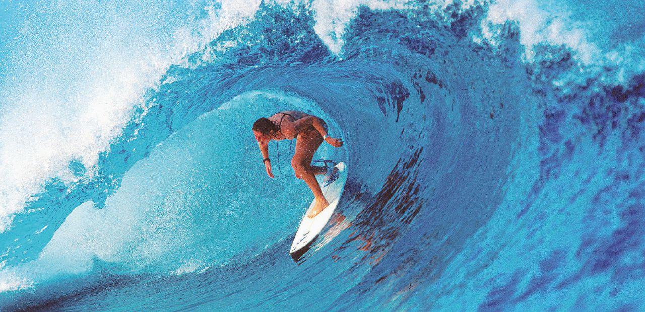 Vita da surf: Cerco l'onda perfetta e scappo da Trump