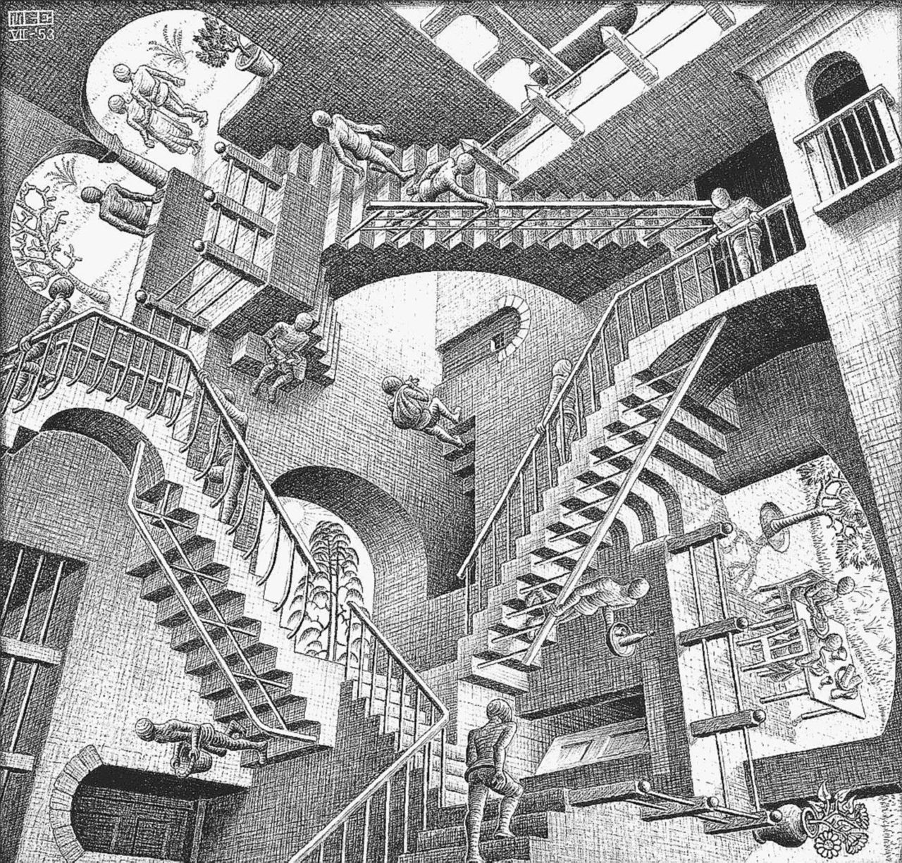 Concavi e convessi, la geometria secondo Escher