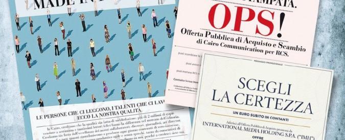 Pubblicità e accuse: tra Cairo e Bonomi volano gli stracci