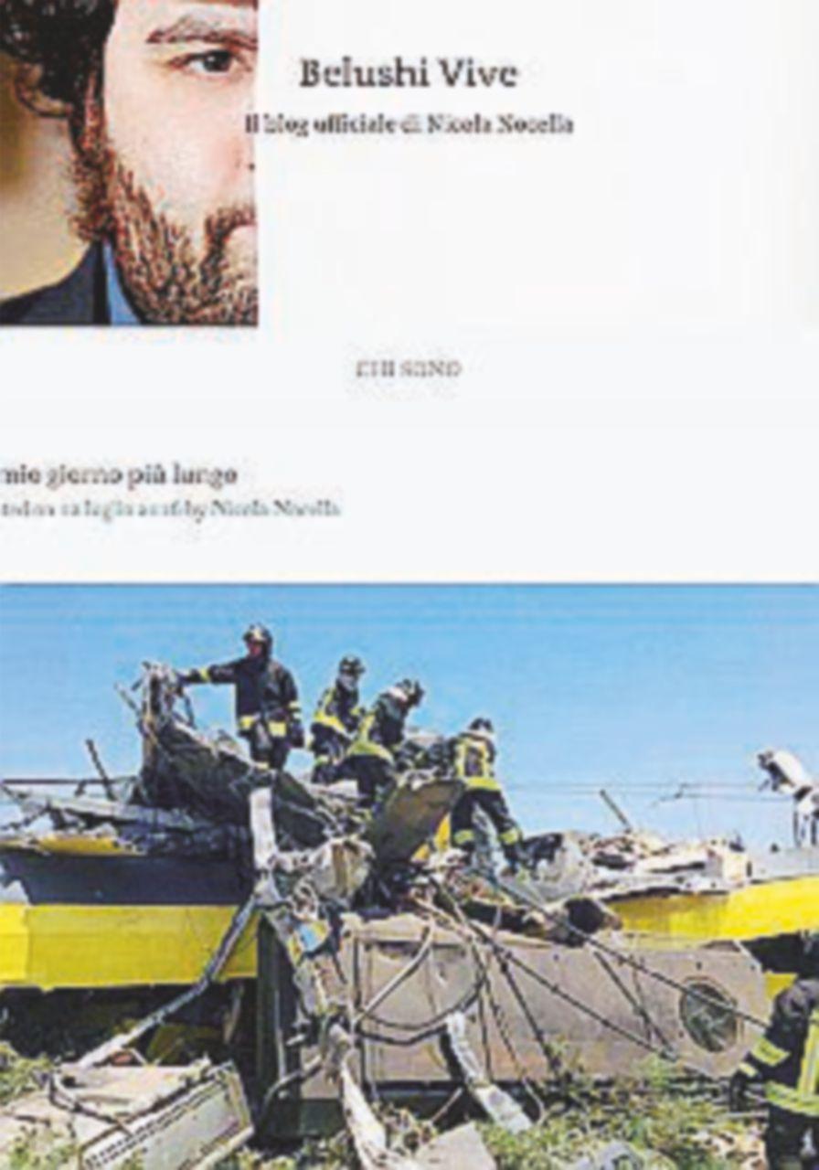 """La lettera sul web di un coratino: """"È il nostro 11 settembre"""""""