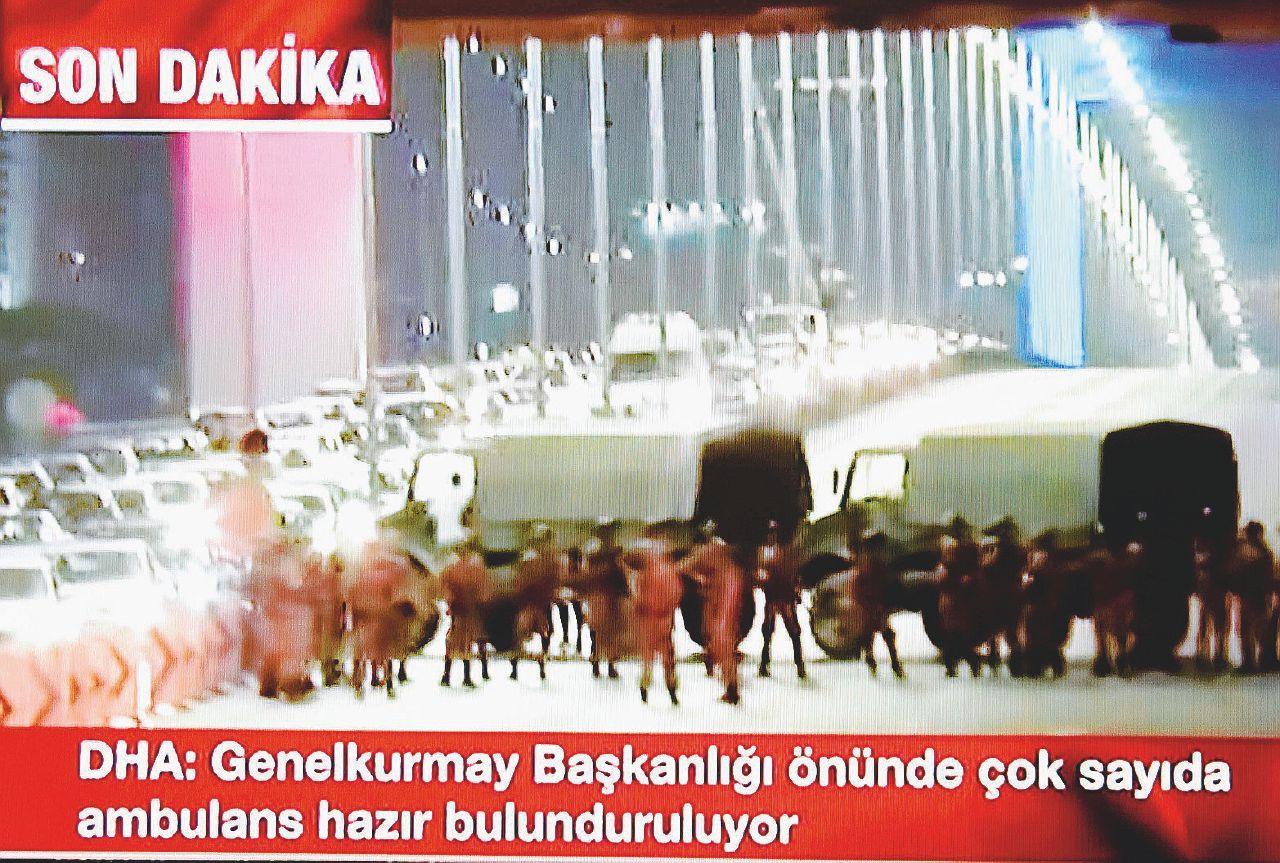 Colpo di Stato in Turchia. Erdogan fugge nella notte