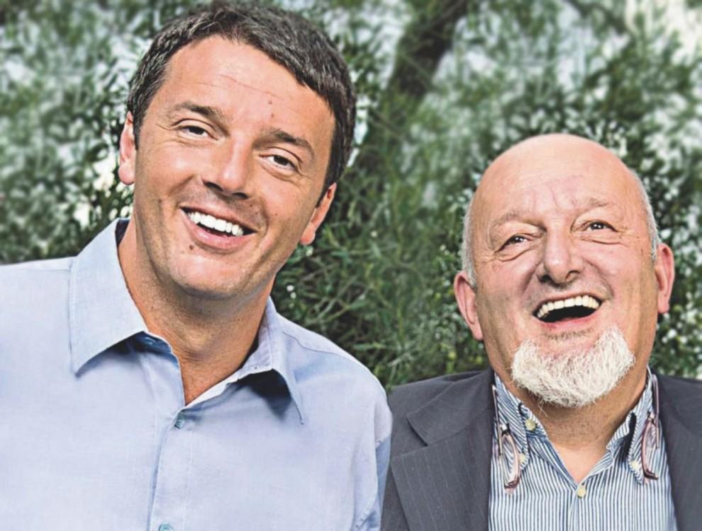 Protagonisti –  Renzi con il padre Tiziano