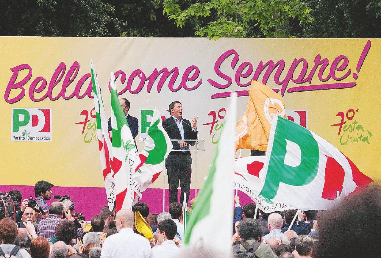 Nessuno spazio per il No: festa dell'Unità a senso unico