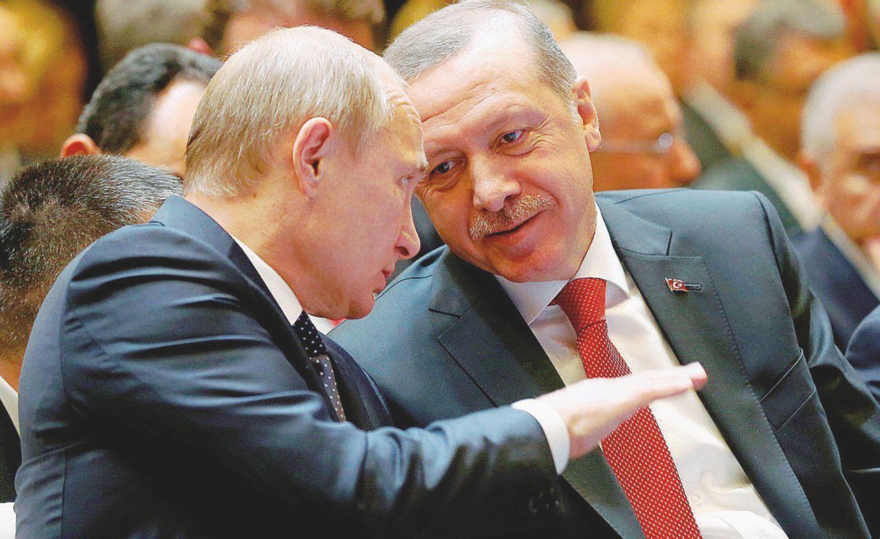 Lo zampino dello zar Putin per tenere in sella Erdogan